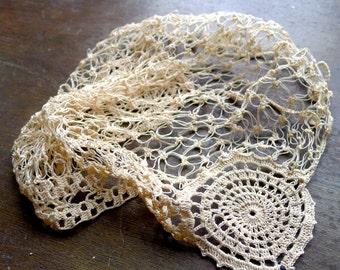 Vintage Crochet Baby Cap