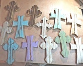 2 large crosses, 10 regular