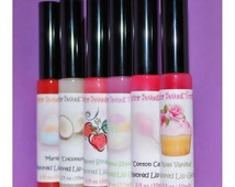 Custom Flavored Lip Gloss - You Choose Flavor!