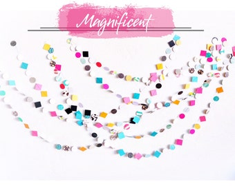 New* Magnificent Party 15' Paper Garland