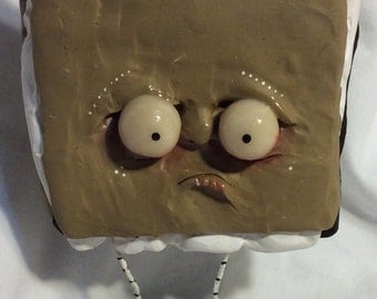 The Uneaten SMORE ooak art doll