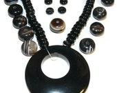 Black Agate Necklace Kit bk10012