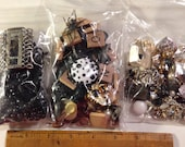 Black destash crafters bead lot