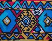 OOP Aztec Southwest design Anne Erde sturdy cotton fabric 5 yards