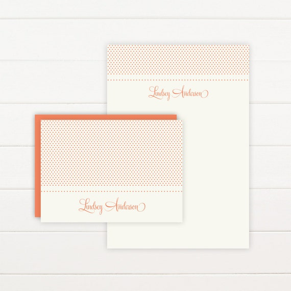SWEETHEART Personalized Stationery + Notepad Set, Personalized Notepad and Personalized Stationary