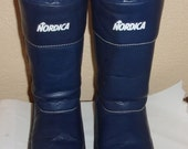 Vintage Womens NORDICA Apres Ski Snow Boots-SZ 39/40UK-sz 8.5 to 9 US-Made In Italy