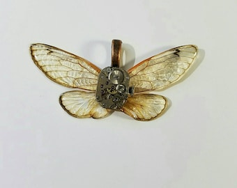Winged Clockwork Pendant
