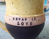 Custom Vegan Mug