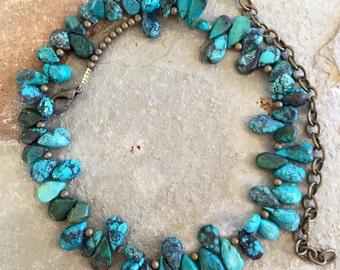 Arizona turquoise southwest style necklace