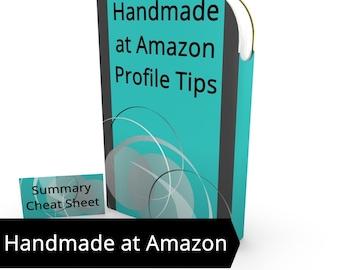 Handmade at Amazon Artisan Profile Tips - Handmade at Amazon Seller Tips, Should I sell on Handmade at Amazon, Selling on Handmade at Amazon