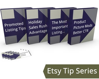 Intermediate Etsy Seller Tips, Promoted Listings, Product Picture Modifications, Holiday Sales Rush Promo, Most Important Listing JJMFinance