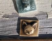 Mosaic Ceramic Tile Porcelain Dog Face