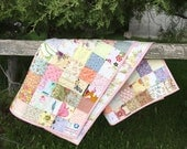 Marie- patchwork baby quilt