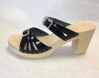 super high sandal with studs