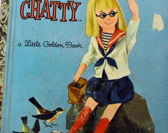 Charmin Chatty Little Golden Book Children's Book Mattel Doll Book