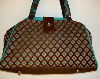 Bella Handbag/Knitting Bag/Project Bag/Shoulder Bag-MONEYPENNEY
