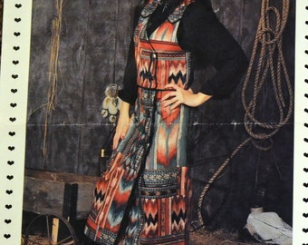 Vintage Sewing Pattern Misses' Skirt and Vest