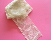 Saved & Saved...Pretty Vintage Lace Yardage