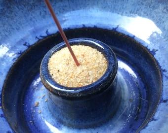 Incense Burner Deep Blue