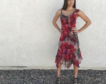 Georgia floral tango dress S M