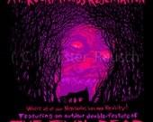 CABIN OF HORROR Coolidge Corner Theatre Evil Dead Signed Poster by Mister Reusch