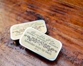All Natural Lip Balm   Lavender Lip Balm   Lip Balm Tin   Herbal Lip Balm   soft, smooth, kissable lips   Lavender-Mint   Lip Treatment