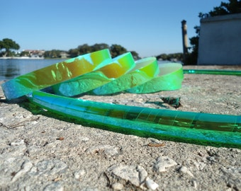 Key Lime Color Shifting Polypro Hoop // High Performance Polypro Hula Hoop