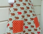 Toddler 1970s Pinafore Ready to Ship in size 2T