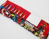 Crayon Wallet - Super Heroes