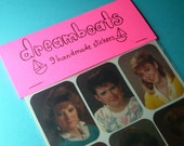 dreamboats handmade sticker set