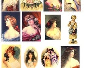 Victorian Women images Digital Collage Sheet GreatMusings No.154