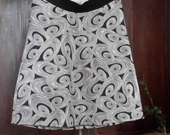 maternity skirt - swirl