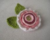 Crochet flower,Crochet Applique Flowers ,1 pcs,