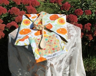Insulted Casserole Carrier ( bright & cheerful )