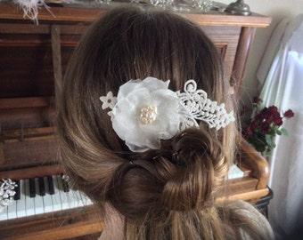 Bridal hair accessories, wedding hair accessories, bridal comb, wedding comb, bridesmaids, Handmade bridal hair comb