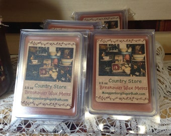Country Store Clamshell Wax Tart Melts