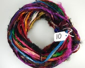 Silk Sari Ribbon, sari border ribbon, Metallic Zari border,  sari silk ribbon, wedding sari, washed sari ribbon, weaving supply