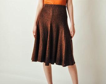 Vintage Koos Van Den Akker Knit Skirt