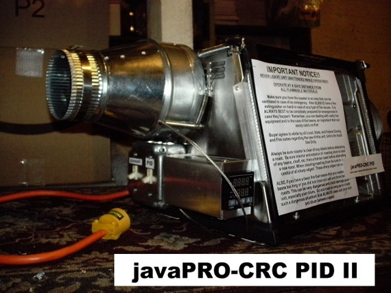 javaPRO-CRC PID II Commercial Coffee Roaster 2 lb. Capacity