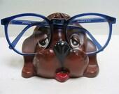 Vintage Hound Dog Glasses Holder Keeper Mid Century