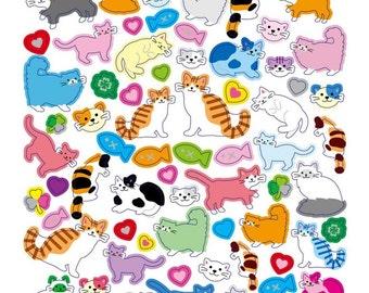 Kitty Cat Sticker • Kitties Sticker • Kitten Sticker • Cat Lover • Pet Lover • Kitty Cat Birthday Party (SK4304)