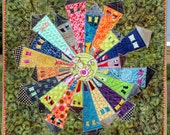 WHOLESALE - Dresden Neighborhood Mini Quilt Pattern minimum quantity 10