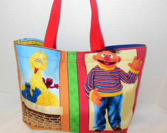 Sesame Street Tote/Overnight/Purse Bag