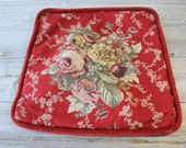 Floral Tapestry Pillow, Victorian Inspired, French Flowers, Country,  Home Decor, Pillow Cover, couch and sofa pillow