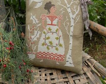 Holly - cross stitch Paper Pattern - from Notforgotten Farm