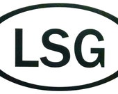 Vinyl Decal, LSG