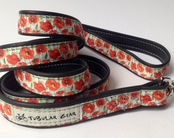 Leash- Red Floral