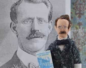 Edward Stratemeyer Doll Miniature Mystery Writer Juvenile Literature Geek Art
