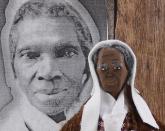 Sojourner Truth History Doll Miniature Art Collectible