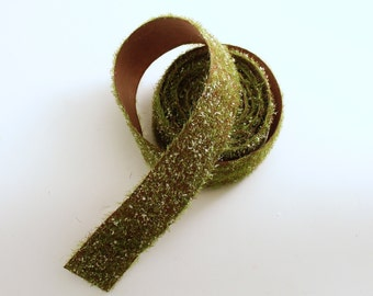 Roll Green Moss Ribbon